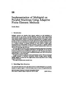 Implementation of Multigrid on Parallel Machines