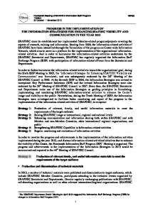 Implementation of SEAFDEC Information Activities and the ...