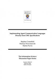 Implementing Agent Communication Languages Directly ... - CiteSeerX