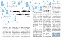 Implementing Social Media in the Public Sector