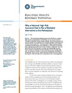 Implementing the Affordable Care Act - Commonwealth Fund