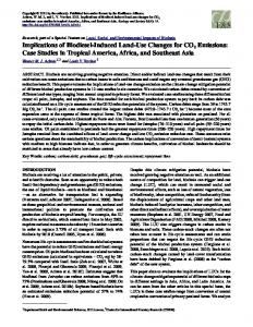 Implications of Biodiesel-Induced Land-Use Changes for CO2 Emissions