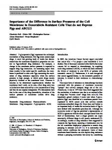 Importance of the Difference in Surface Pressures of ... - Springer Link