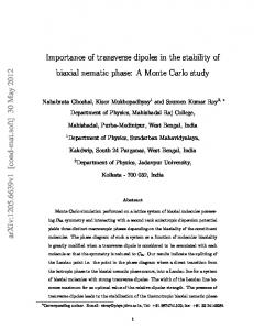 Importance of transverse dipoles in the stability of biaxial nematic