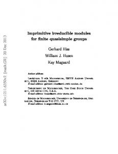 Imprimitive irreducible modules for finite quasisimple groups