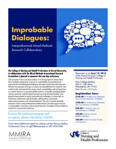 Improbable Dialogues