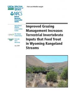 Improved Grazing Management Increases Terrestrial ... - USDA