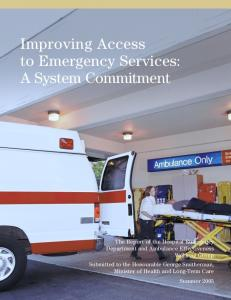 Improving Access to Emergency Services: A System ...