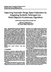 Improving Automatic Design Space Exploration by Integrating