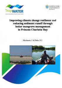 Improving climate change resilience and reducing