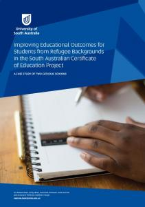 Improving Educational Outcomes for Students from Refugee