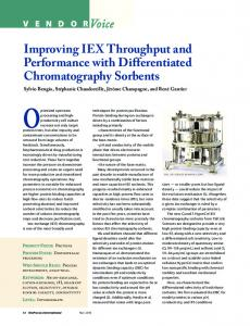 Improving IEX Throughput and Performance with ...