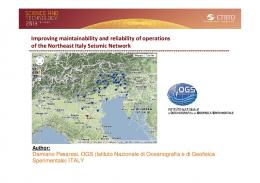 Improving maintainability and reliability of operations ...