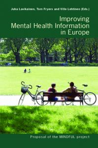 Improving Mental Health Information in Europe