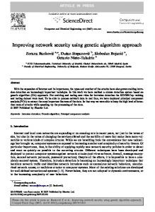 Improving network security using genetic algorithm ... - Semantic Scholar
