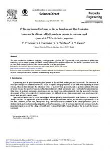 Improving the Efficiency of Earth Monitoring Missions ... - ScienceDirect