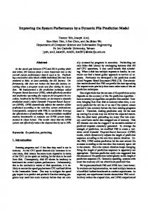 Improving the System Performance by a Dynamic ... - Semantic Scholar