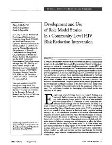 in a Community Level HIV - Europe PMC