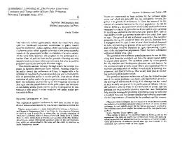In Abraham F. Lowenthal, ed., The Peruvian Experiment: Continuity ...