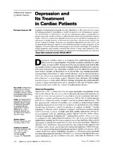 in Cardiac Patients - Europe PMC
