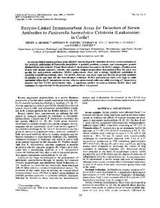 in Cattlet - Journal of Clinical Microbiology - American Society for ...
