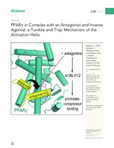 in Complex with an Antagonist and Inverse Agonist - Cell Press