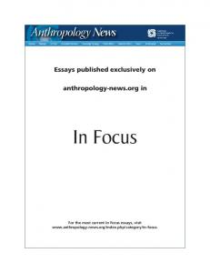 In Focus - Wiley Online Library