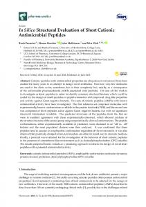 In Silico Structural Evaluation of Short Cationic Antimicrobial Peptides