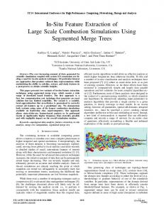 In-Situ Feature Extraction of Large Scale ... - ACM Digital Library