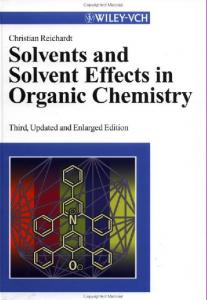 In: Solvents and Solvent Effects in Organic Chemistry