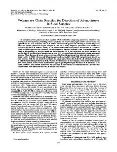 in Stool Samples - Journal of Clinical Microbiology - American Society ...