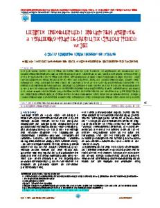 In-vitro Antioxidant and Antibacterial Activity of Methanolic Extract of ...