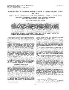 In Vitro - Journal of Clinical Microbiology - American Society for ...