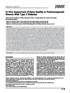 In Vivo Assessment of Bone Quality in ... - Wiley Online Library