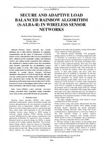 in wireless sensor networks