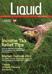 Income Tax Relief Tips