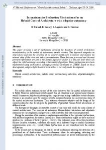 Inconsistencies Evaluation Mechanisms for an Hybrid Control ...