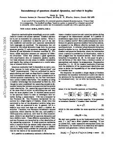 Inconsistency of quantum--classical dynamics, and what it implies