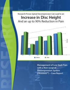 Increase in Disc Height