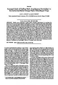 Increased Catch of Codling Moth (Lepidoptera ... - PubAg - USDA