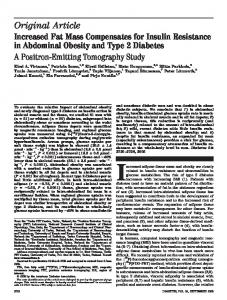 Increased Fat Mass Compensates for Insulin Resistance in Abdominal ...