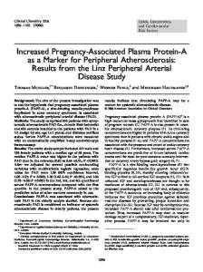 Increased Pregnancy-Associated Plasma Protein ... - Semantic Scholar