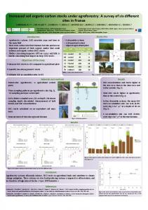 Increased soil organic carbon stocks under ...
