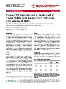 Incremental diagnostic role of cardiac MRI in young ... - Springer Link