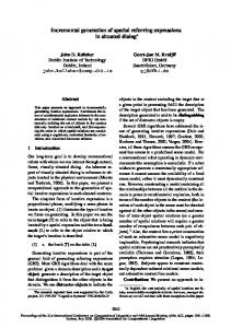 Incremental Generation of Spatial Referring Expressions in Situated ...