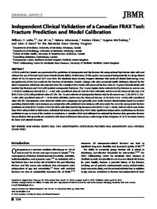 Independent clinical validation of a Canadian ... - Wiley Online Library