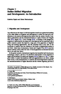 Indian Skilled Migration and Development: An ... - Infoscience - EPFL