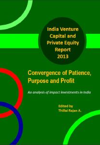 Indian Venture Capital and Private Equity Report 2012