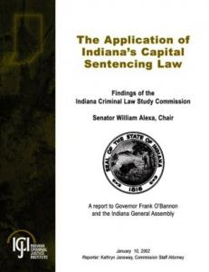 Indiana Criminal Law Study Commission