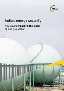 India's energy security - Ernst & Young